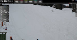 Velikonocemi končí lyžařská sezóna na Černé Říčce. A jak je vidět, jezdit se bude (: .