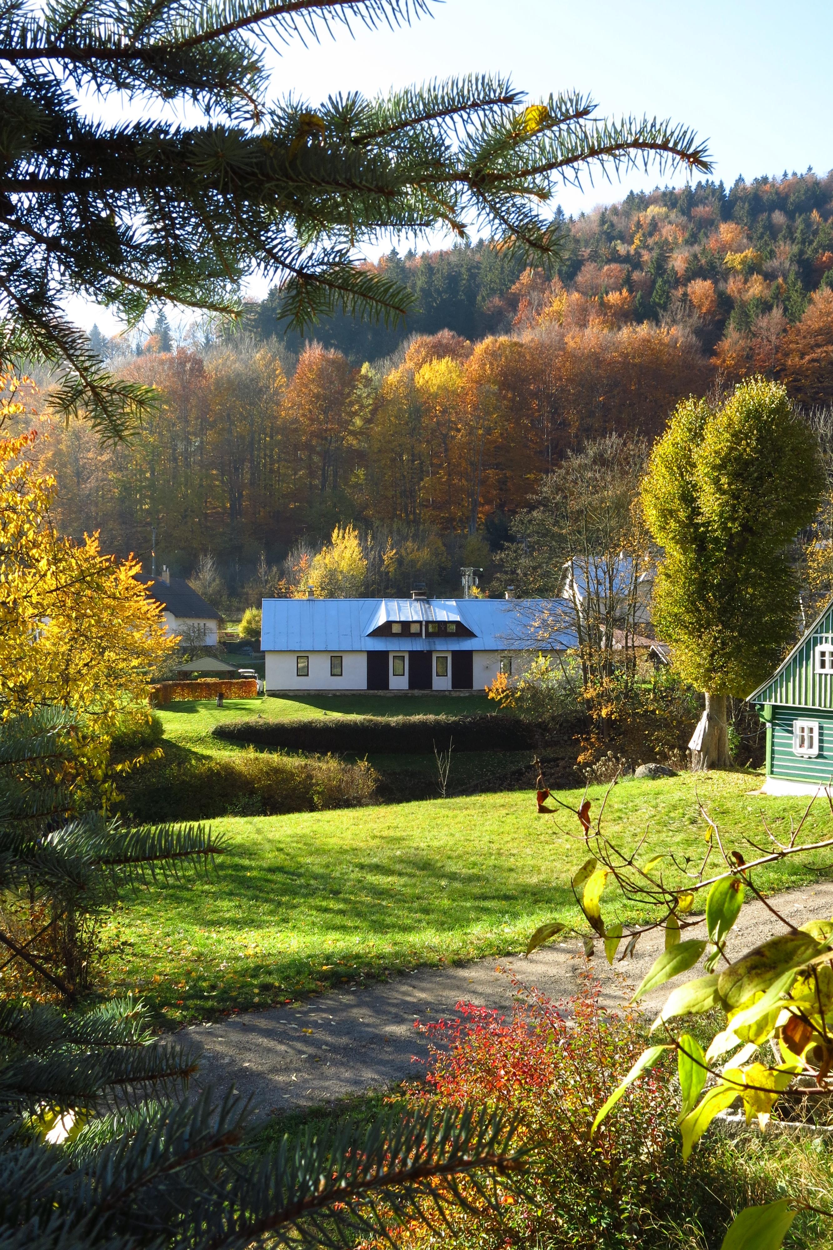 podzim v Desné