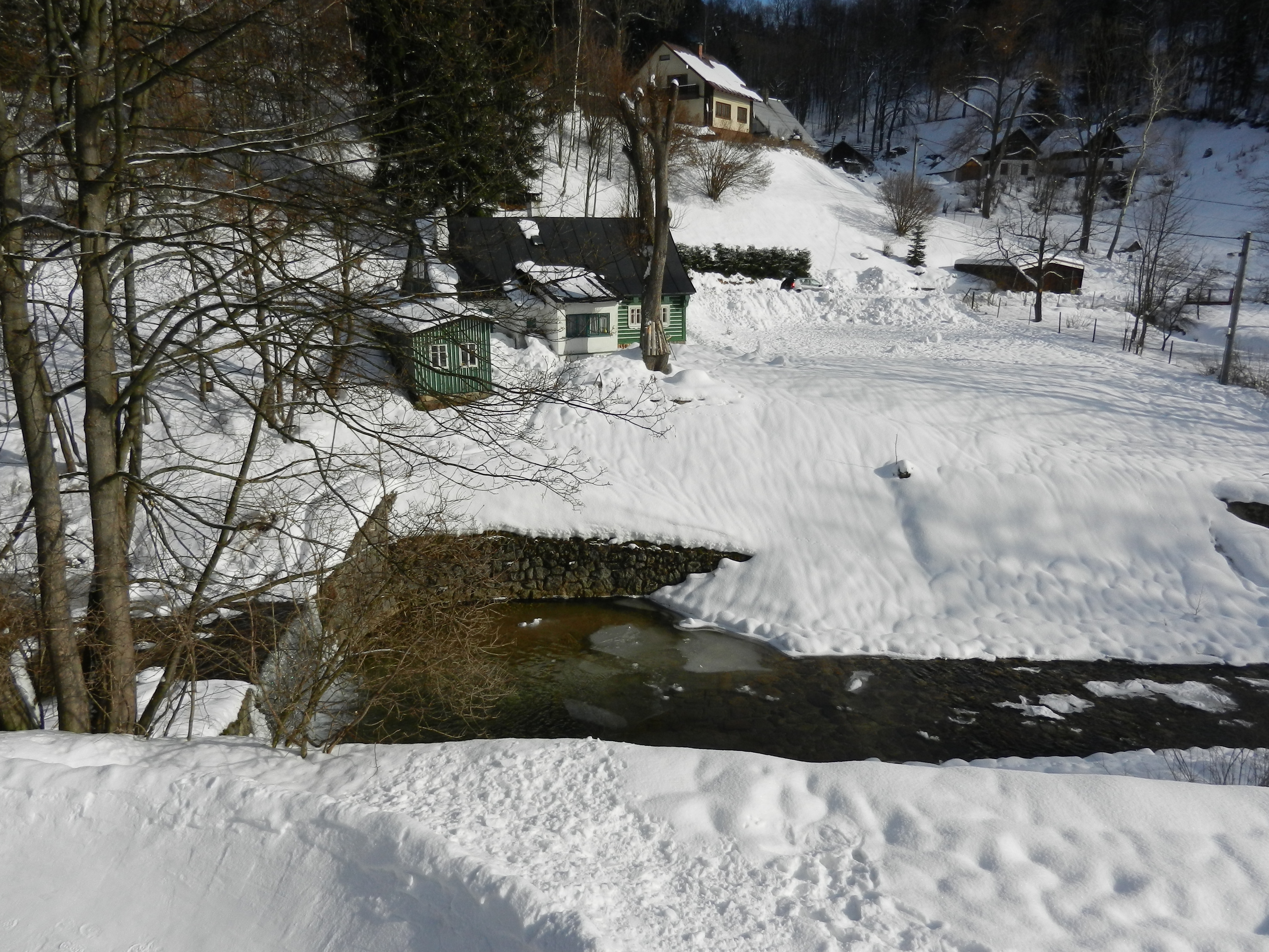 zima v Desné